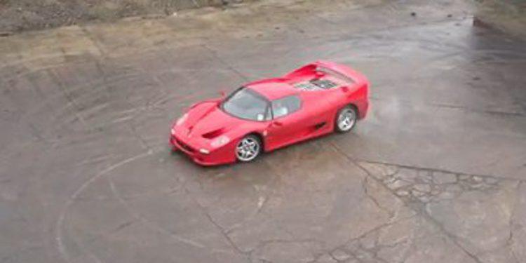 Ferrari F50 y el tratamiento slow motion de TaxTheRich