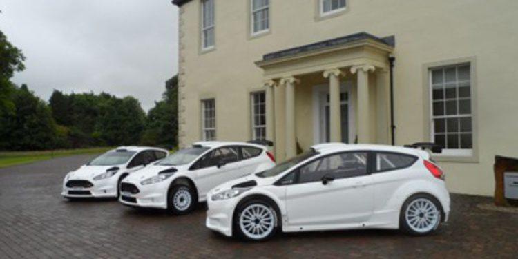 M-Sport trabaja en la primera evolución del Fiesta R5