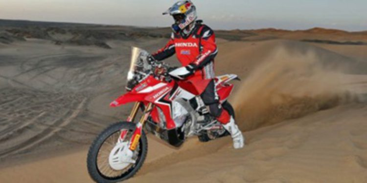 Joan Barreda está listo para el Dakar 2014