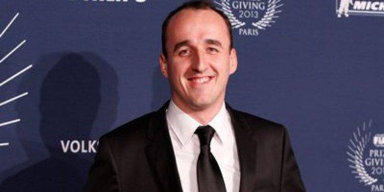 """Robert Kubica es la """"Personalidad del año"""" en los premios FIA"""