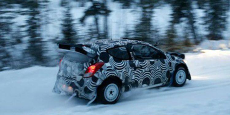 Test de Hyundai Motorsport sobre nieve con Marcus Grönholm