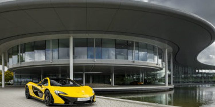 Bienvenido a Woking, hogar de McLaren