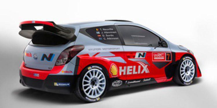 Hyundai Motorsport presenta su proyecto para el WRC 2014