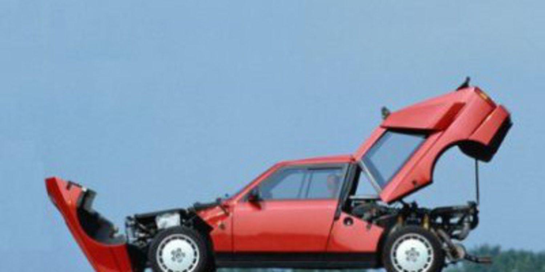 Desarrollo y test del Lancia Delta S4 Grupo B