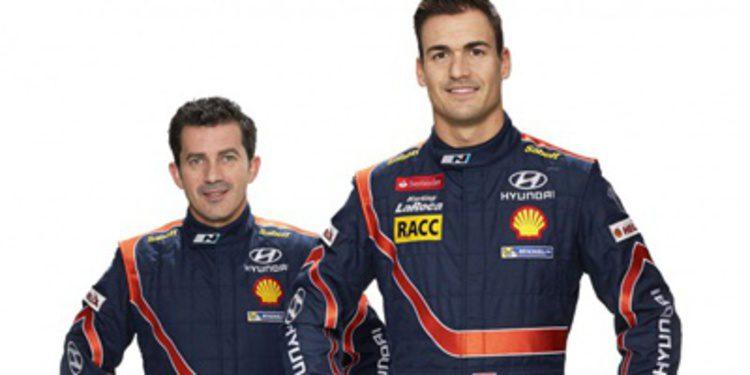 Dani Sordo se estrena como piloto de Hyundai Shell WRT