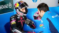 Luis Salom y Maverick Viñales a por todas en Moto2