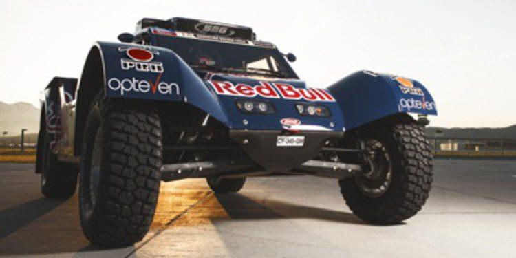 El buggy de Carlos Sainz para el Dakar 2014 al desnudo