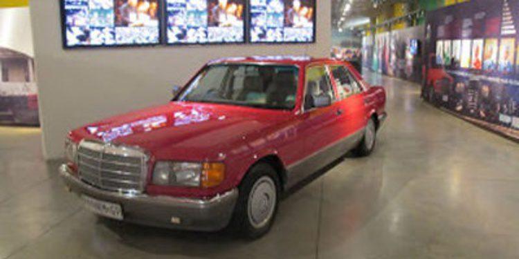 El Mercedes-Benz Clase S de Nelson Mandela