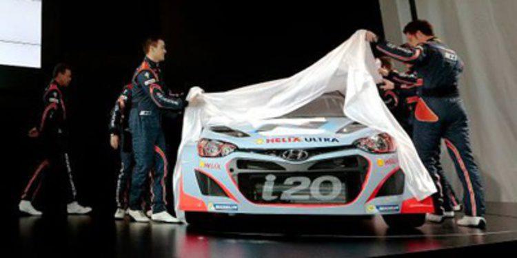 El primer test de Dani Sordo sobre el Hyundai i20 WRC