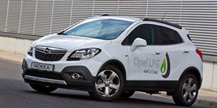 Opel dota al Mokka de GLP