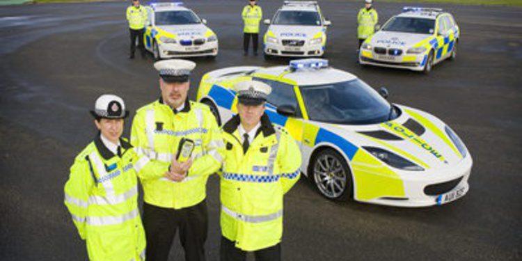La Policía Británica cuenta con un Lotus Evora S