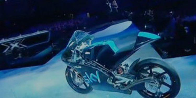 El Team Sky - VR46 de Moto3 se estrena en X-Factor