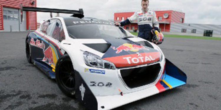 Kris Meeke y el Peugeot 208 T16 Pikes Peak en Top Gear