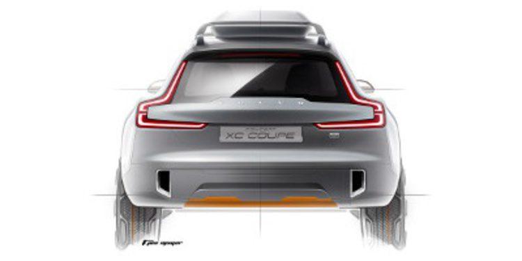 Adelanto de Volvo de su nuevo concept XC Coupé