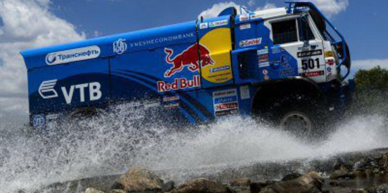Kamaz irá a por todas en el Dakar 2014