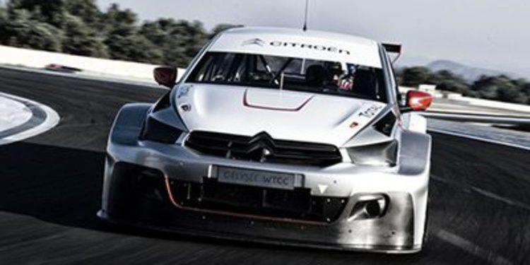 """Loeb, Muller y """"Pechito"""" López, pilotos de Citroën en el WTCC 2014"""