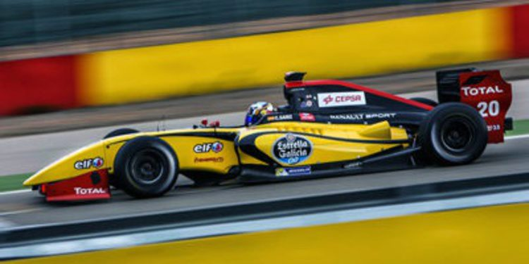 Carlos Sainz Jr. con DAMS en la World Series 2014
