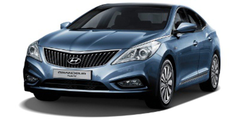 Nueva versión híbrida para el Hyundai Grandeur