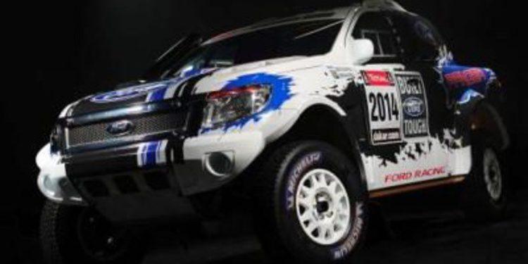 Así será el equipo Ford Racing para el Dakar 2014