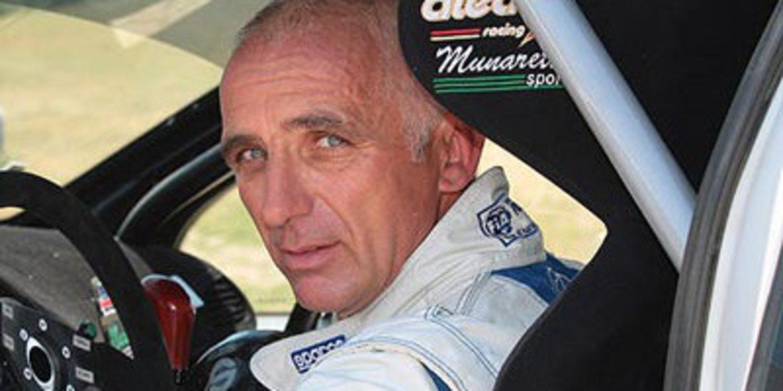 François Delecour con un Fiesta WRC en el Rally de Montecarlo