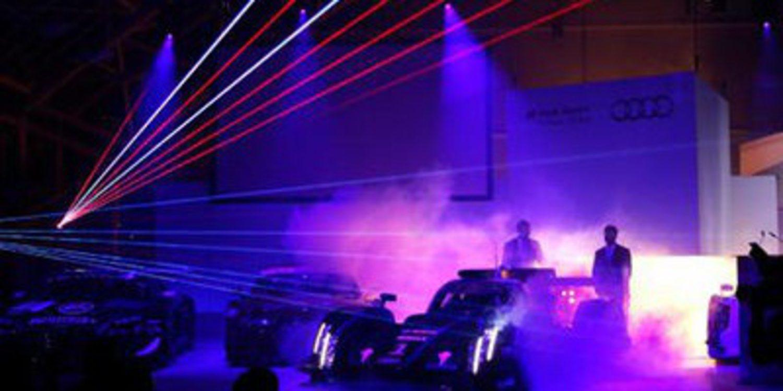 El nuevo Audi R18 e-tron quattro, con faros láser