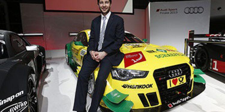 Audi competirá con tres campeones en el DTM