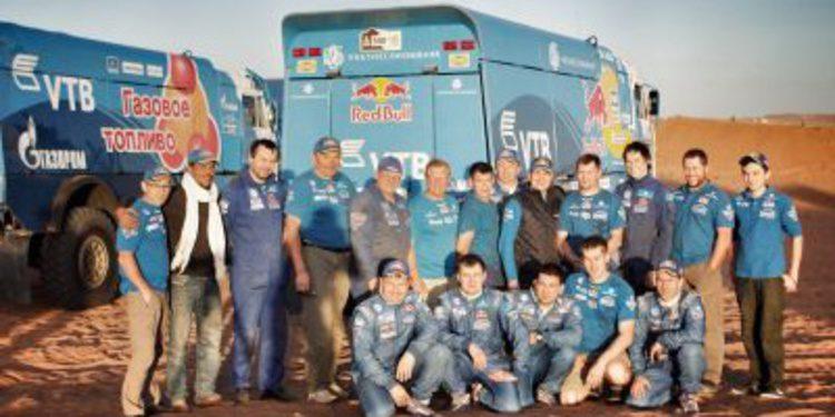 """Vladimir Chagin: """"De 13 a 15 tripulaciones pueden acabar arriba en el Dakar 2014"""""""