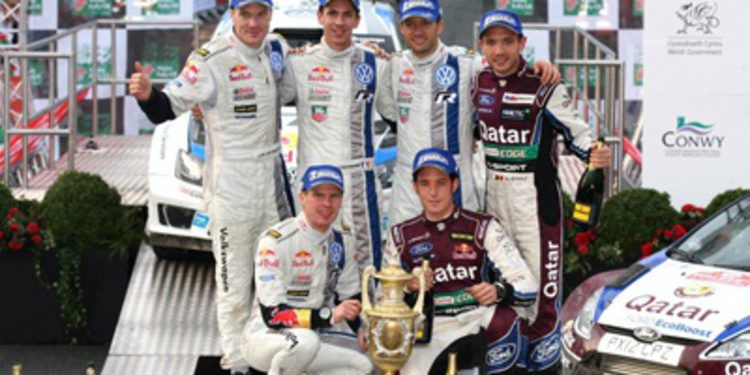 Sebastien Ogier encabeza el World Rally Ranking 2013