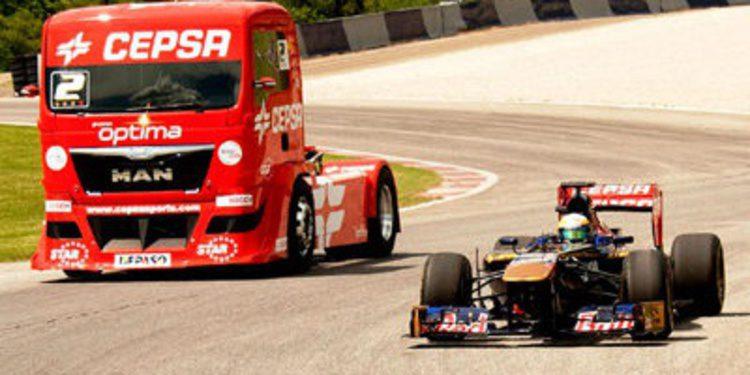 CEPSA une el STR8 de Toro Rosso y el MAN del Truck Team