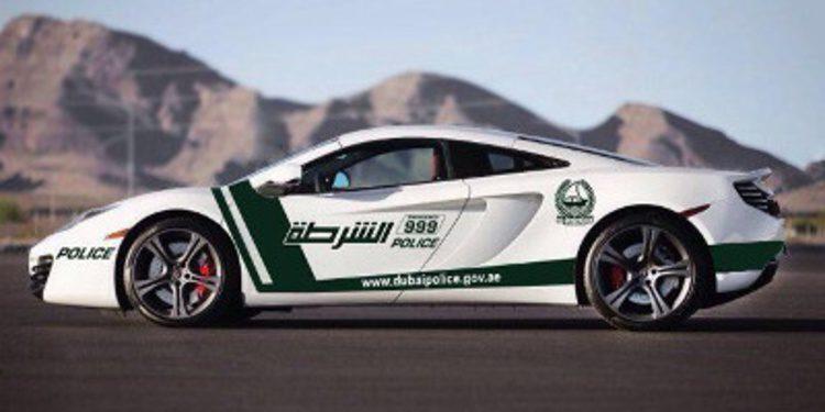 La policía de Dubai añadirá un McLaren MP4-12C a su flota