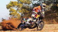 Pilotos españoles de motos y quads para el Dakar 2014