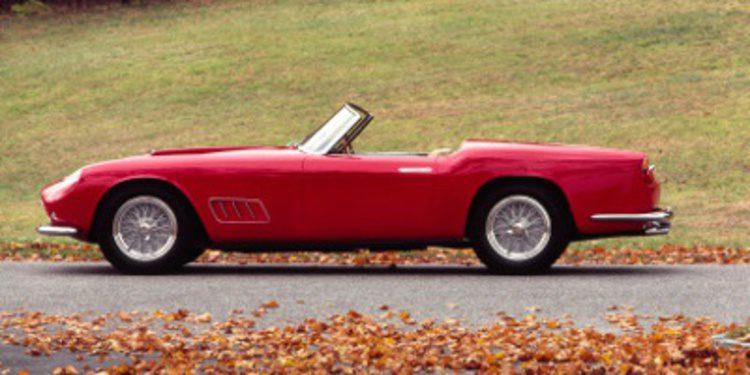 Regalos de navidad: Ferrari 250 GT LWB California spyder