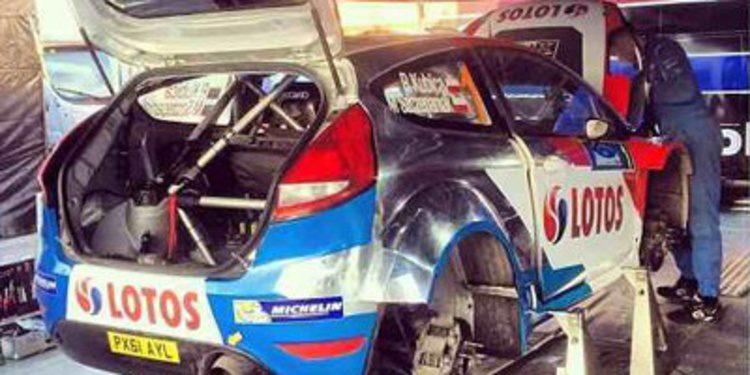 Robert Kubica gana el tramo clasificatorio en el Jänner Rally del ERC