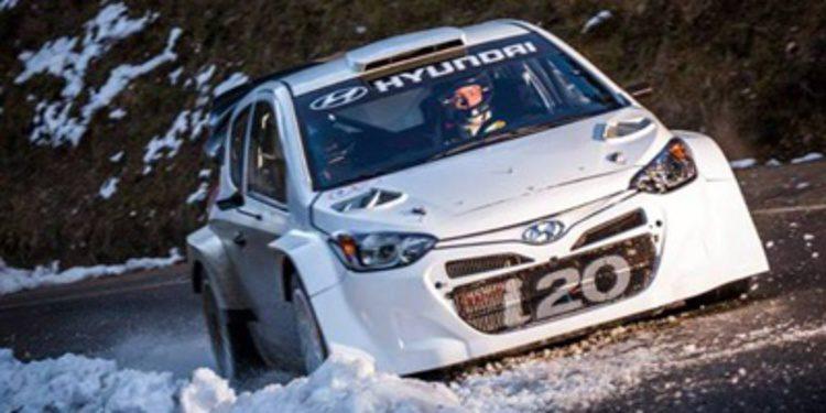 ¿Dónde estará el Hyundai i20 WRC en el Montecarlo?