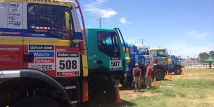 Los camiones reclaman su protagonismo en el Dakar