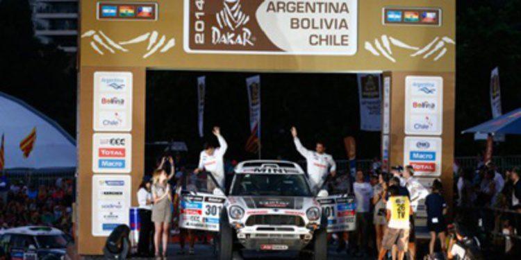 Dakar 2014: Etapa 1 entre Rosario y San Luis