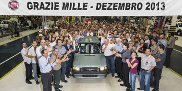 Finaliza la producción del Fiat Mille