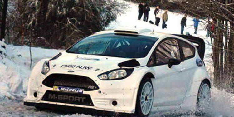 Elfyn Evans prepara el Montecarlo con el renovado Fiesta RS WRC