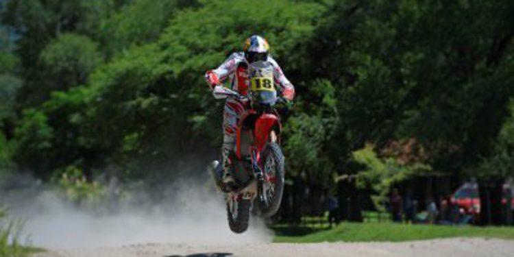 Dakar 2014, etapa 2: Sam Sunderland da la segunda victoria en motos a Honda