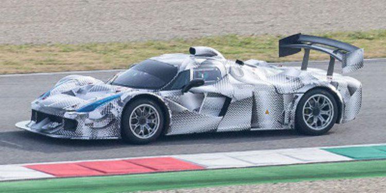 Prototipo Ferrari aviva rumores de su vuelta a Le Mans