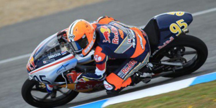 El joven Scott Deroue con RW Racing GP en Moto3
