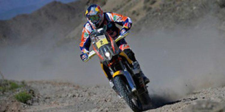 Dakar 2014: Doble liderato español en la tercera etapa