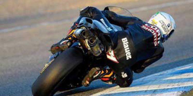 Claudio Corti listo para correr con MV Agusta en el WSBK