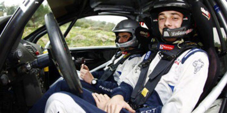 Stéphane Lefebvre, primer piloto en el JWRC 2014