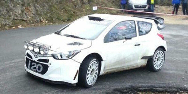 Último test de Dani Sordo con Hyundai previo al Montecarlo