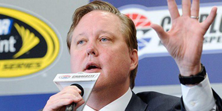 Brian France cuestiona el sistema de puntos en NASCAR