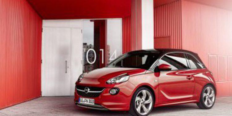El Opel Adam supera sus expectativas de venta
