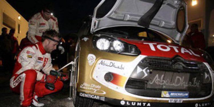 El Rally de Montecarlo calienta con diversos test