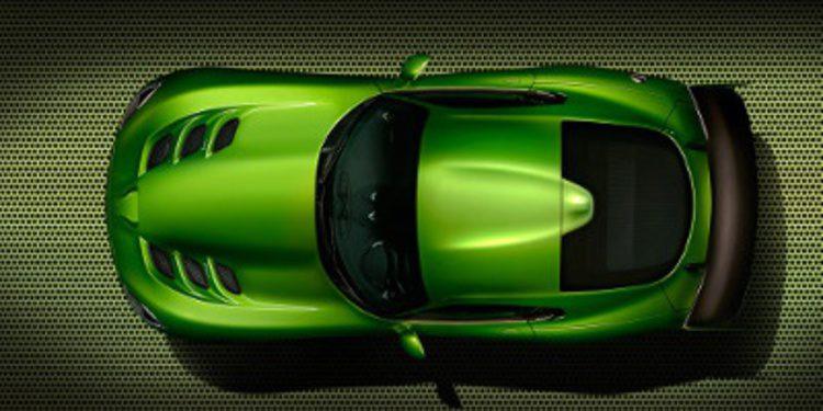 SRT añade al Viper nuevo acabado GT