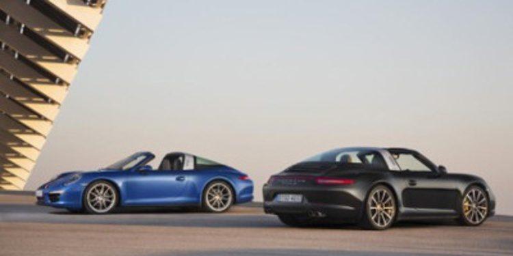 Primeras imágenes oficiales del Porsche Targa
